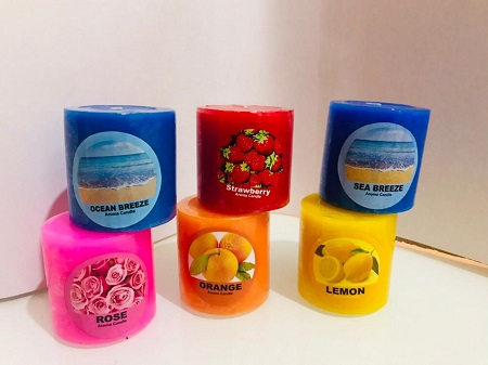 Aroma Candles 2.5 * 2.5 inch