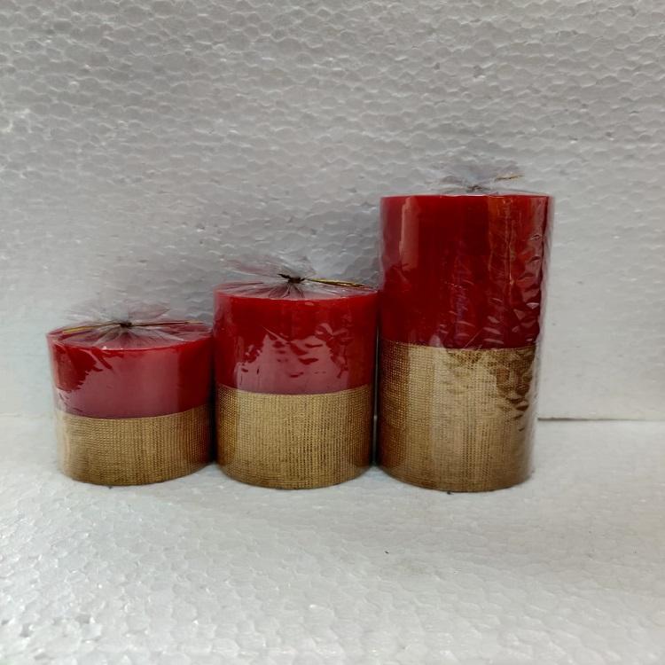 Passero Designer Candles Pack Of 3